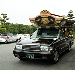 Booking hearse