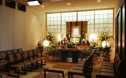 Booking funeral hall